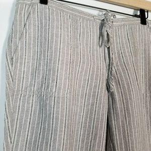 4d745510366c6 Victoria's Secret Linen Blend Lounge Pants